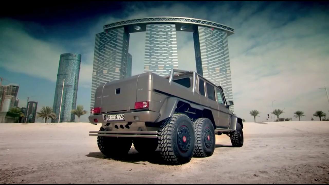 mercedes g63 amg 6x6 review - top gear - series 21 - bbc На
