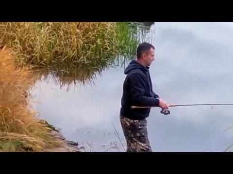 осень река фидер