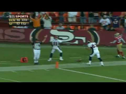 GOODBYE CHRIS SIMMS (CUT) - NFL Videos Preseason Chris Simms highlights
