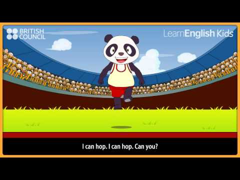 I can run - Nursery Rhymes & Kids Songs - LearnEnglish Kids British Council