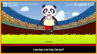 I can run - Nursery Rhymes & Kids Songs - LearnEnglish Kids British Council