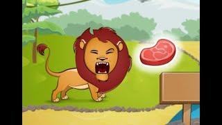 Learn animals in the zoo and on the farm (Учить животных в зоопарке и на ферме)
