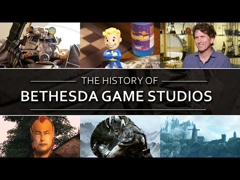 The History of Bethesda Game Studios - Elder Scrolls / Fallout Documentary