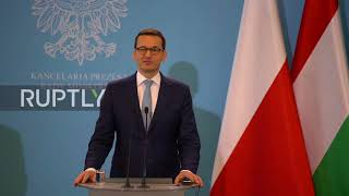 Poland: Polish and Hungarian PMs discuss migration and EU reforms