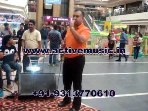 Karaoke System on Rent in Delhi NCR at TDI Mall Playing Soch