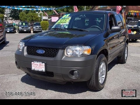 Ford Escape Xlt >> 2005 Ford Escape XLT V6 4WD - YouTube