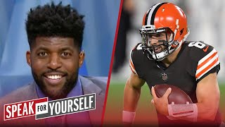 Baker Mayfield only beat the worst team in the NFL, I need more — Acho | NFL | SPEAK FOR YOURSELF