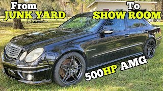 buying-and-rebuilding-a-cheap-salvage-auction-mercedes-amg-over-5-days
