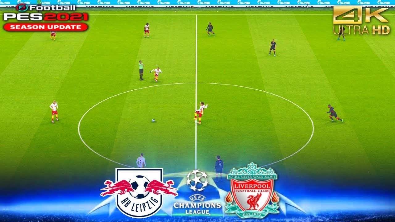 RB Leipzig v Liverpool Champions League PES 2021 - YouTube