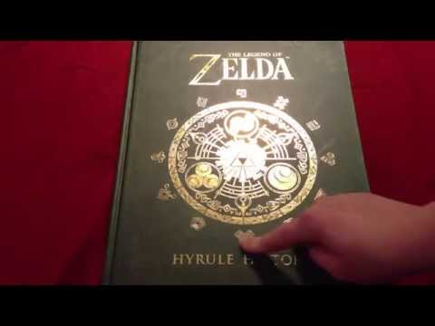 ASMR The Legend Of Zelda: Hyrule Historia - PART 1