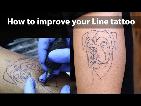 How To Tattoo: How To Improve Your Tattoo Line Work | Tattoo Tutorial - Part - 10