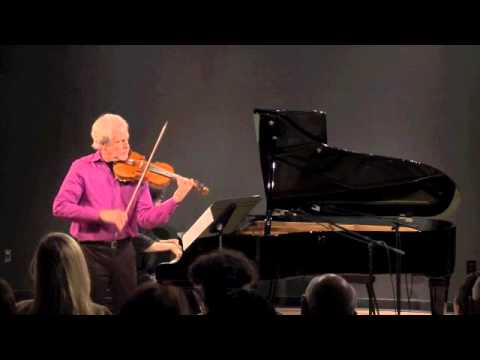 Gil Morgenstern's Reflections Series International - Stravinsky's Suite Italienne for Violin & Piano