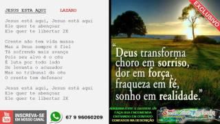 Baixar JESUS ESTA AQUI - LAZARO PLAYBACK MIDI