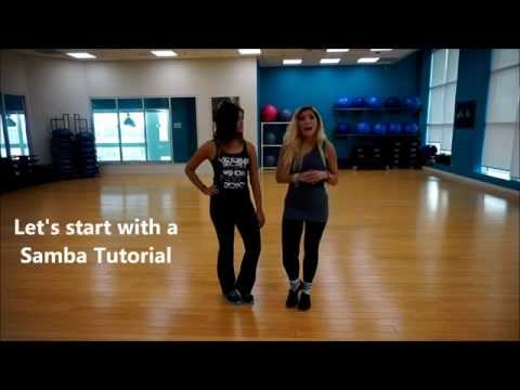 Quick DanceBeachFitness Workout - Let's learn & dance Samba :)