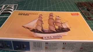 Academy Minicraft HMS Bounty Model Ship Kit Review