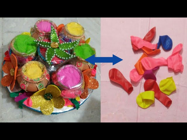 Diy Platter Diy Packings Wedding Ideas Holi Festival Color