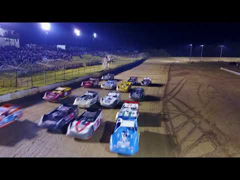 Dog Hollow Speedway - 9/3/17 Best view of a Super Late Model 4 Wide Salute YOU WILL EVER SEE!