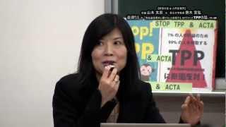 2012年11月28日 緊急対談 山本太郎 x 鈴木宣弘 ~衆院選投票前に聞かな...
