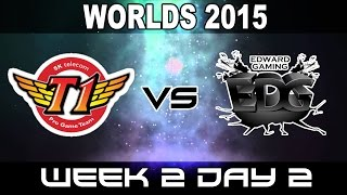 SKT vs EDG - 2015 World Championship Week 2 Day 2 - SK Telecom vs EdwarD Gaming