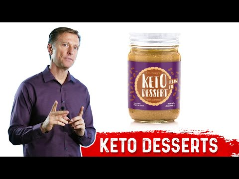 Dr. Berg's New Keto Desserts Now Available