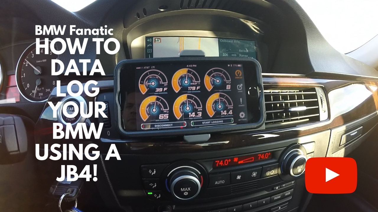How To Data Log Your BMW N54 N55 135i 335i 535i Using A JB4 + Bluetooth  Connect Kit!