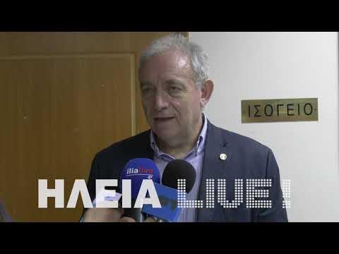 Ilialive.gr - Δηλώσεις Λέκκα στην Ανδραβίδα
