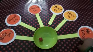Valentine's day theme kitty party game one to seven day's with twist