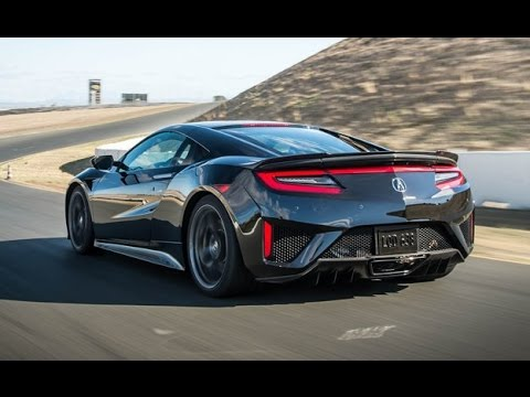 Acura NSX 2016 top speed - YouTube