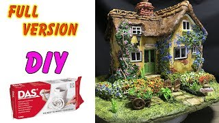 FULL VERSION : Build a Clay Cottage using DAS clay and Cardboard