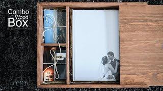 Combo Box Wood by Dreambookspro