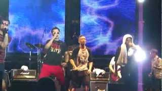 LMF- 揸緊中指 live @ Tiger Asian Music Festival 2012, Malaysia