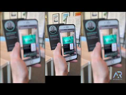 Augmented Reality for Recruitment | Web AR Aircards