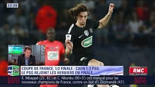 After foot du mercredi 18/04 – partie 1/3 - débrief de caen/psg (1-3)
