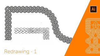 Adobe illustrator pattern brush   linear ornament