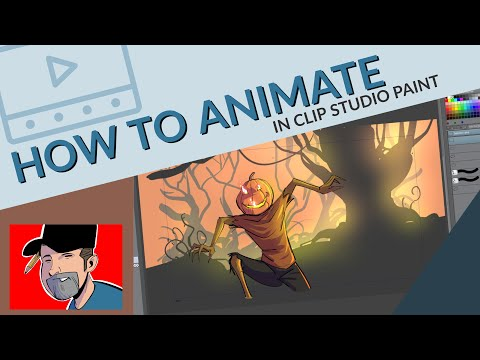 How to Animate in Clip Studio Paint - The Easy Way! TIPS/TUTORIAL thumbnail