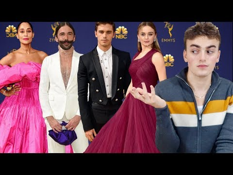 BEST AND WORST EMMY'S FASHION 2018 joey king was basic , queer eye needs help, tracee delivers