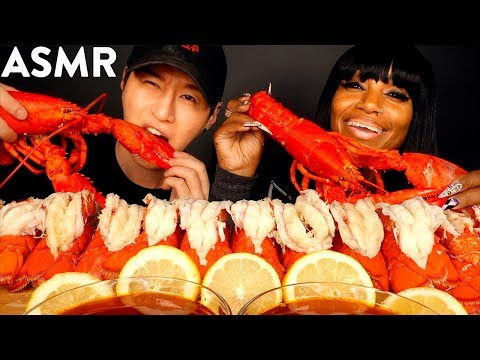 asmr-12-lobster-tails-with-bloveslife-(&-bloves-sauce-recipe)-cooking-&-eating-sounds