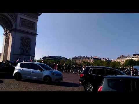 Marche Ancien combattant, Arc de Triomphe