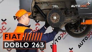 Ako vymeniť Riadiaca tyč na FIAT DOBLO Box Body / Estate (263) - video sprievodca