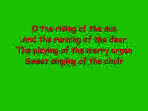 the holly and the ivy with lyrics mp3