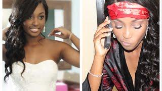 DIY: Bridal Makeup Tutorial for Dark Skin || Bride On a Budget!