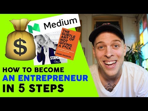 How to be an ENTREPRENEUR (100% success)