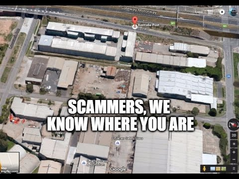 SCAMMERS in Eagle Farm Brisbane Australia YOUR DAYS ARE NUMBERED.