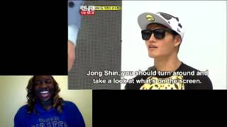 RUNNING MAN EP 195 (FEATURING 2NE1 AND 2PM) REACTION (CATCH GARY!!!)
