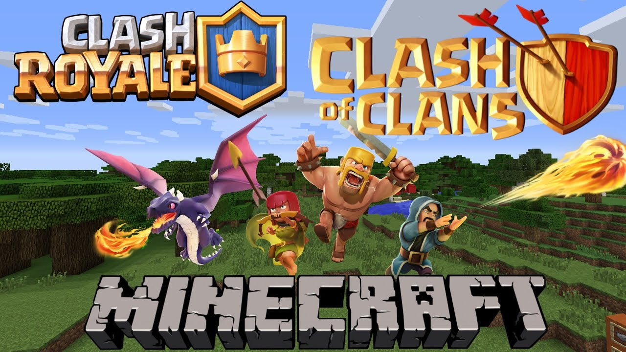 Minecraft Mods Clash Of Clans Clash Royale Clash Of Mobs Mod Showcase Review   Youtube