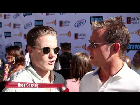 Jeffrey Alan Marks & Ross Cassidy Interview GLAAD: Top Chef Invasion