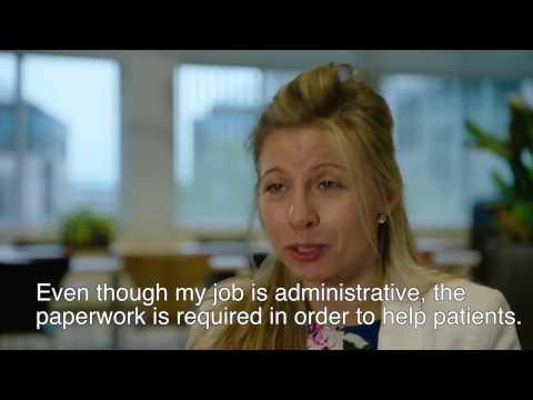 Proud to be part of pharma - Laurence, Regulatory Affairs