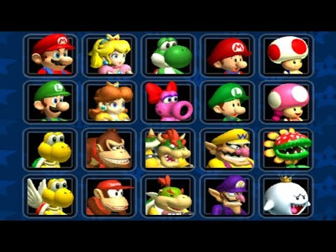 Mario Kart Double Dash - All Characters Unlocked