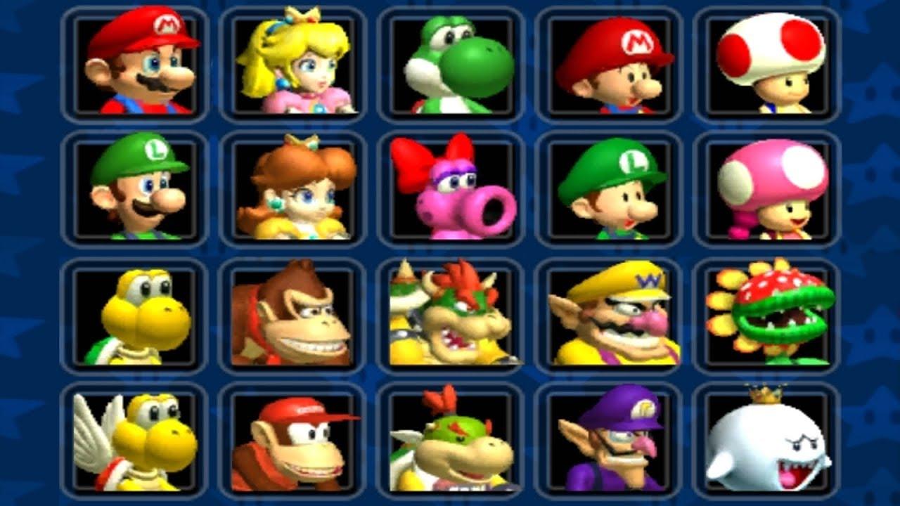 Mario Kart Double Dash All Characters Unlocked Youtube