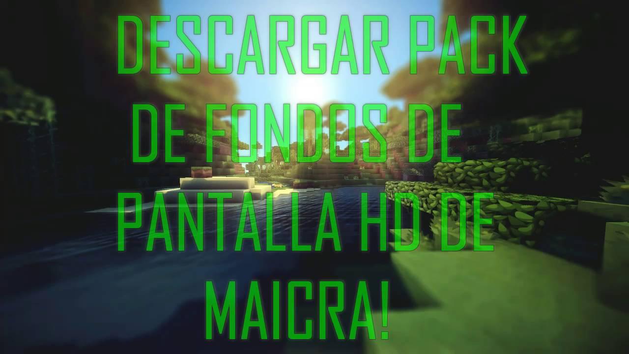 Minecraft Fondo De Pantalla Hd: DESCARGAR PACK DE FONDOS DE PANTALLA DE MINECRAFT HD